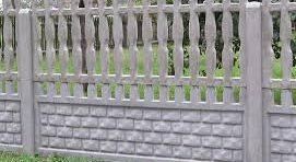 Hatásos védelem a betonkerítés